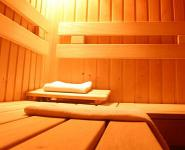 Sauna in Hotel Gastland M1 in Paty next to the highway M1