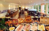 Rich and healthy buffet-style breakfast is served daily in the Restaurant