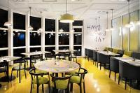Lobby bar inIbis Styles Budapest City - 3-star Mercure hotel in Budapest with view to the Danube