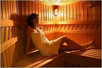 Sauna in Hotel Walzer - 3-star renovated hotel in Budapest, in green surrounding